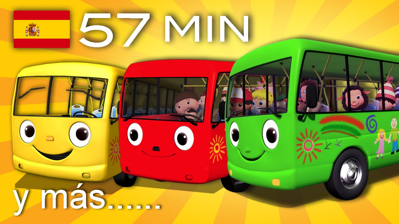 The Wheels on the Bus  And many more childrens songs  57 min of