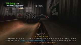 Tony Hawk´s American Wasteland | Record personal en Chicago.