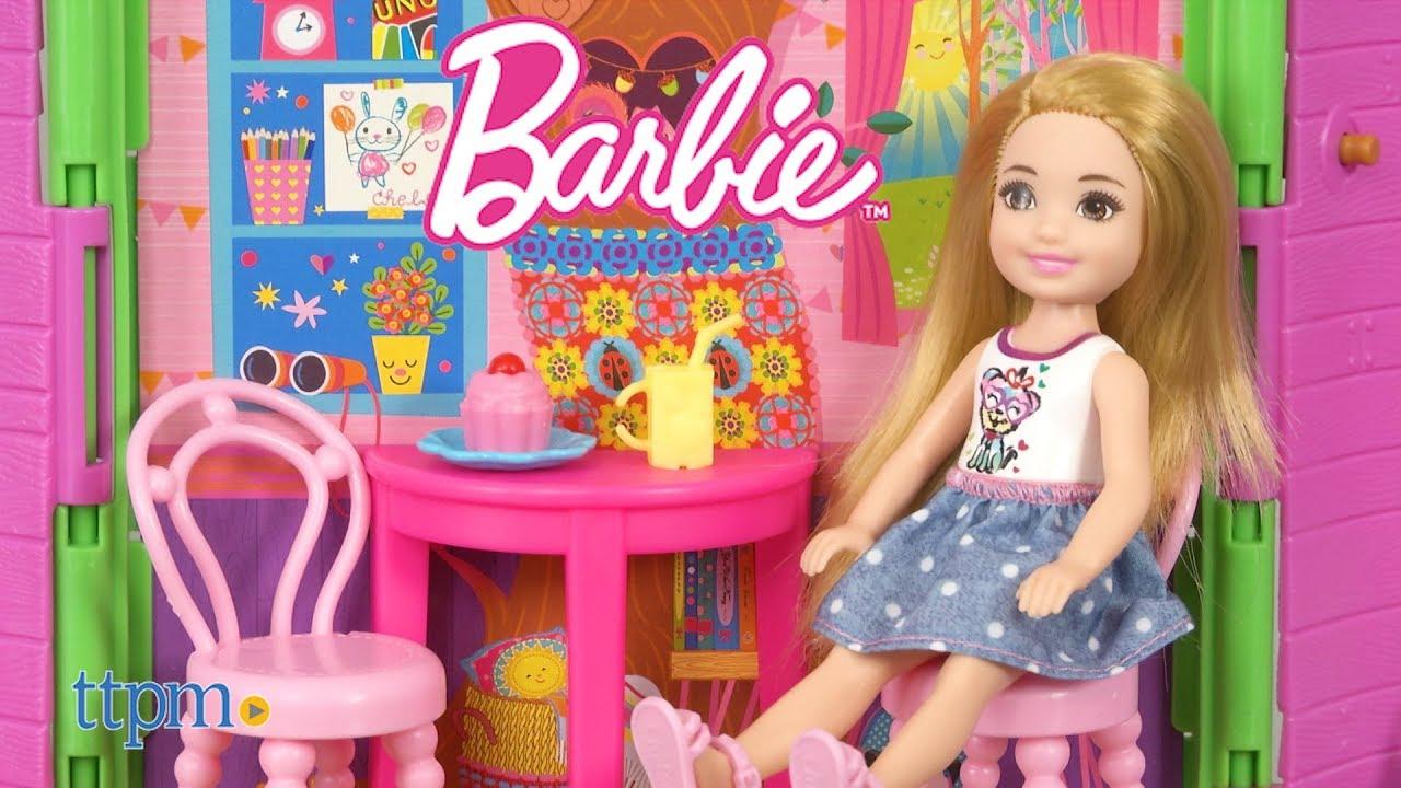Barbie Treehouse Club Chelsea Doll Playset