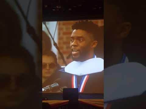 Chadwick Boseman Howard University Commencement Speech
