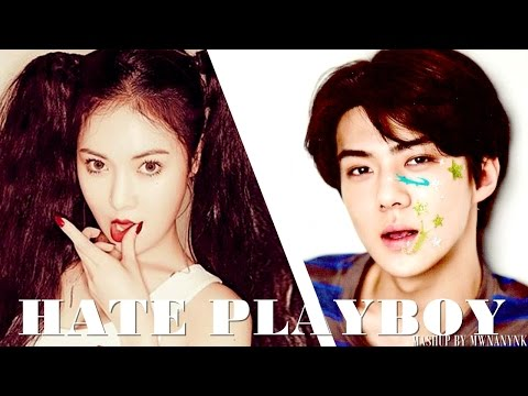 EXO vs. 4MINUTE - Hate Playboy (MashUp)