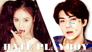 EXO vs. 4MINUTE - Hate Playboy (MashUp)