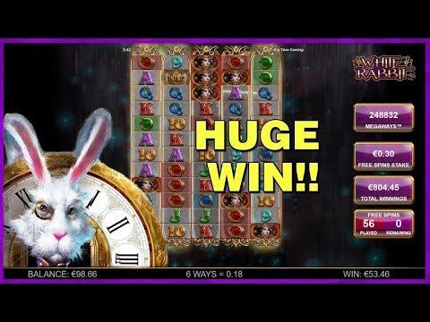 White Rabbit - HUGE WIN!!!