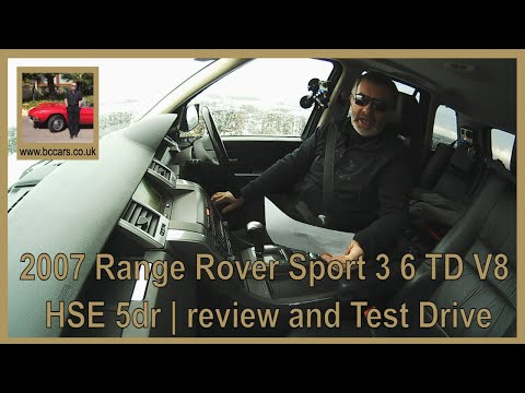 Review and Virtual Video Test Drive In Our 2007 Range Rover Sport 3 6 TD V8 HSE 5dr