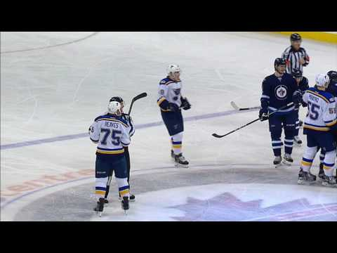 Unsuspecting Ehlers takes huge hit from Reaves