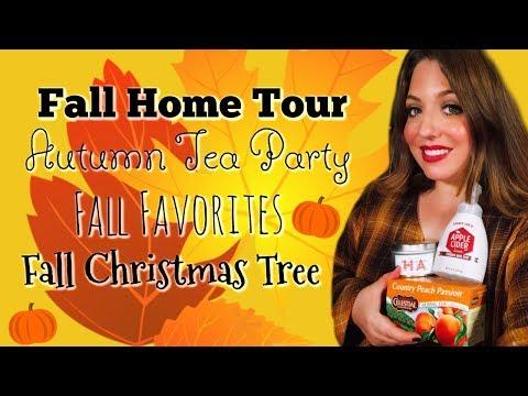 New Fall Home Tour 2018 | New Cozy Fall Home Tour | New Fall Home Tour Decor