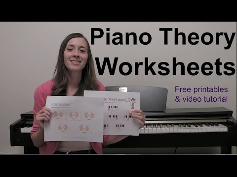 Piano Theory Worksheets
