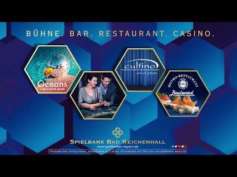 Spielbank Bad Reichenhall: Bühne. Bar. Restaurant. Casino