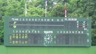 2019年6月5日(水) イースタン・リーグ公式戦 巨人vs日本ハム