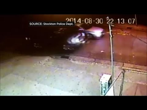 Stockton Police Release Video Of Teen's Shooting