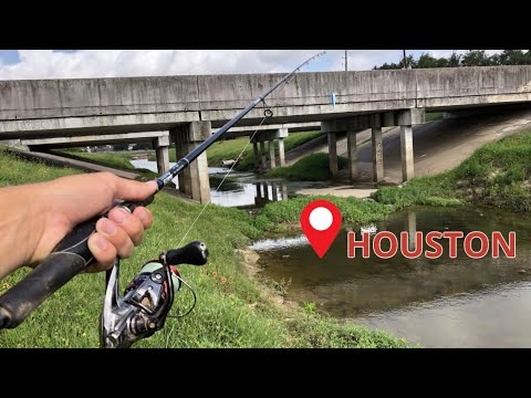 Houston Tx Bayou Fishing