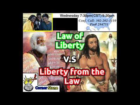 Church Deception: Law of liberty vs liberty from the Law