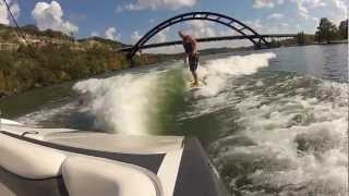 Learn to wakesurf in Austin Texas  - How to ride the wave