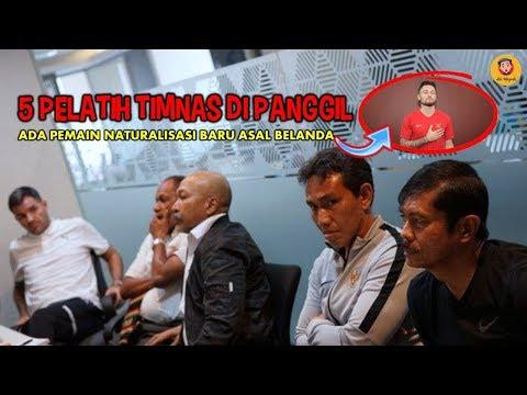 PSSI PANGGIL 5 PELATIH TIMNAS,ADA PEMAIN NATURALISASI BARU ASAL BELANDA