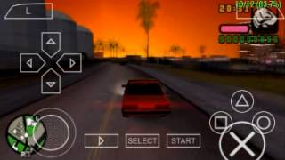 Teste GTA Vice City Stories - PPSSPP v0.9.9.1 Galaxy SII