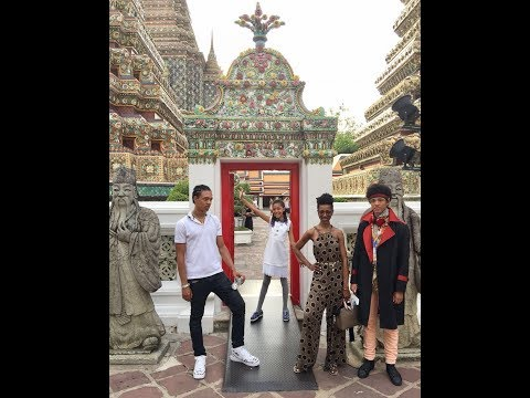 Christmas in Thailand, Jet Skiing, an unexpected  K-Pop Parody, Wat Pho Temple