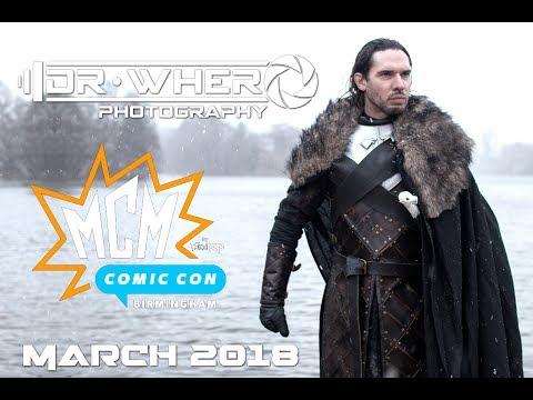 Dr Whero Photography - MCM Comic Con : Birmingham Spring 2018 Cosplay Music Video