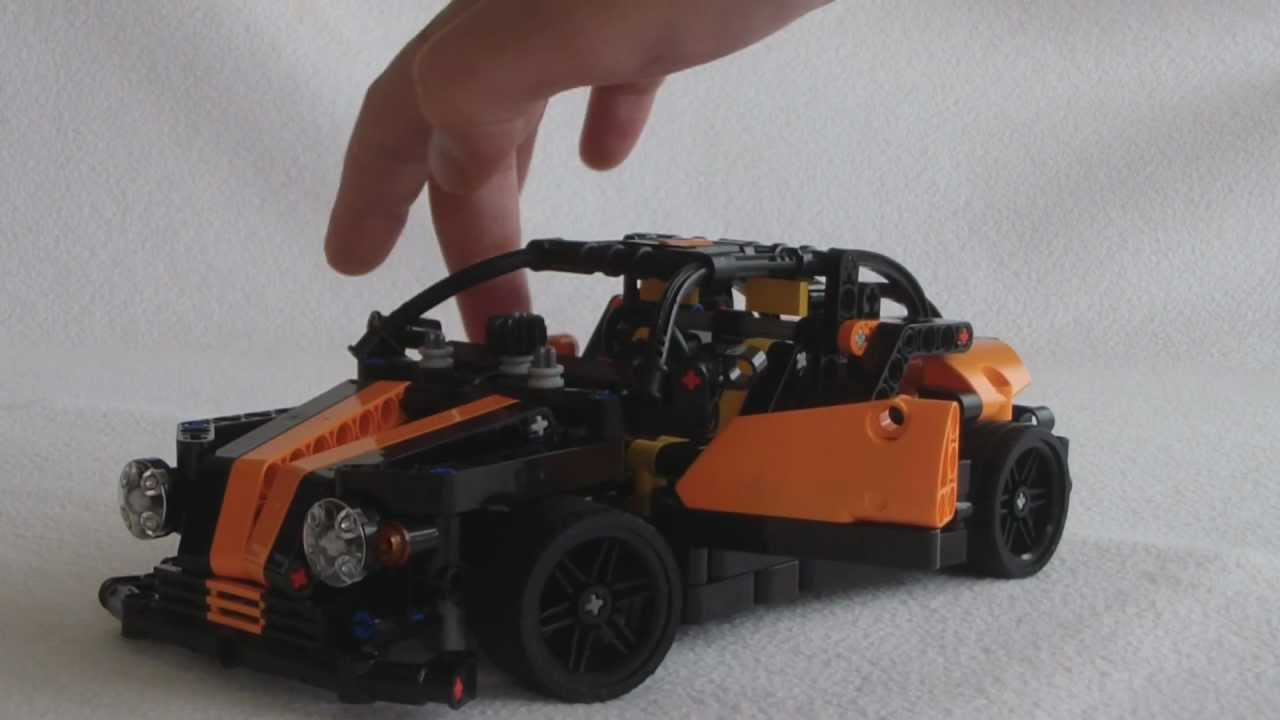 lego technic moc small supercar by teuk youtube. Black Bedroom Furniture Sets. Home Design Ideas