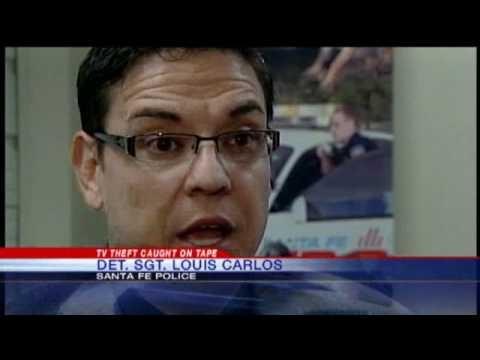 Burglars Trash Santa Fe Business, Police Say