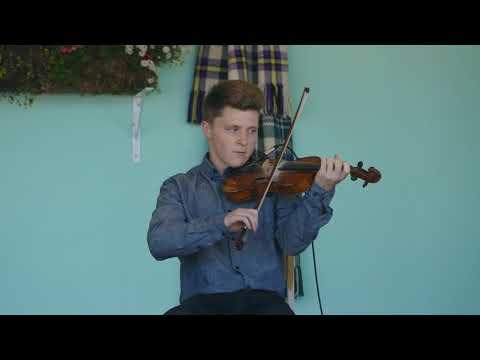 2017 Broad Cove Scottish Concert - 2 - Douglas Cameron (fiddle) and Ashley MacIsaac (piano)