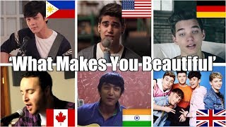 Who Sang It Better: What Makes You Beautiful (Philippines, India, USA, Canada, Germany, UK)