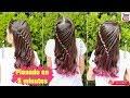 💕  PEINADO FÁCIL EN 5 MINUTOS! • Easy 5 MINUTE Hairstyle | Wilvita 💕
