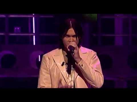 "Boris Singing "" When Doves Cry"" By Prince - Liveshow 1 - Idols Season 2"