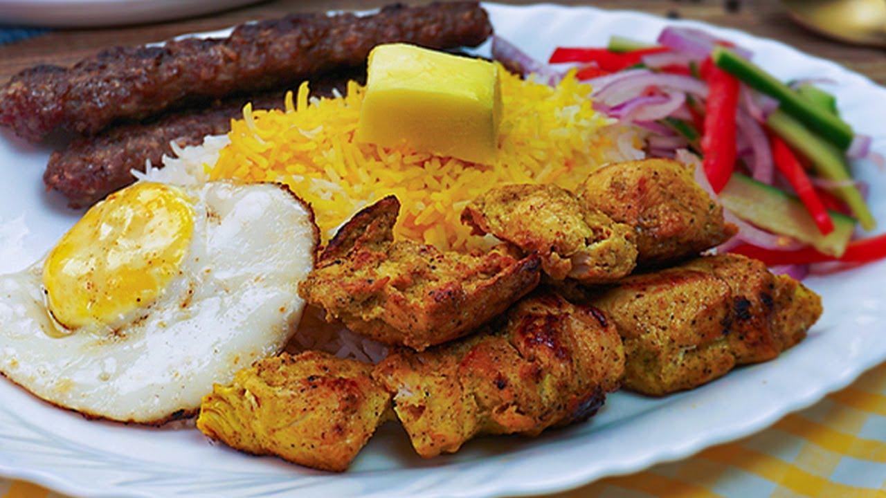 Chelo Kabab Joojeh Kabab Koobideh Kabob Chello Bakhtiyari Kebab Recipe