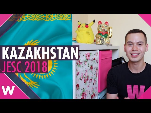Kazakhstan at Junior Eurovision 2018 (and Wales too)