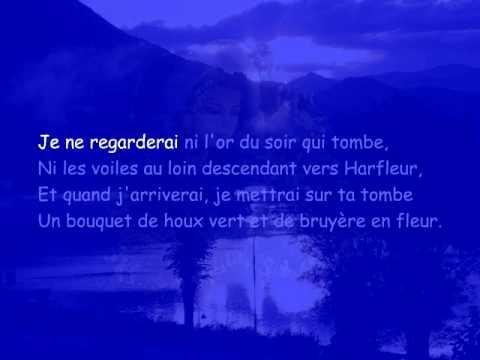 Demain Des Laube De Victor Hugo Lisons Le Poeme