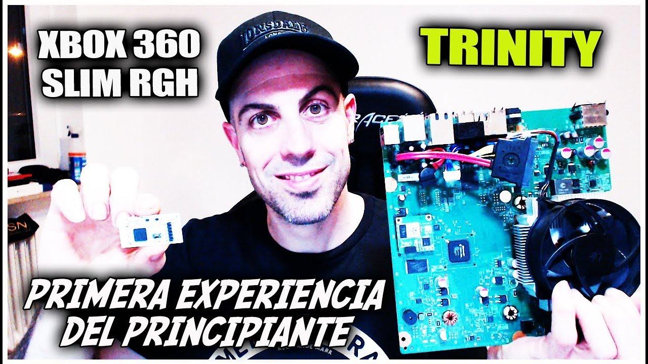 Primera experiencia del Principiante Xbox 360 RGH Trinity | 2019
