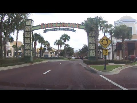 Trip to Winter Garden Village in Winter Garden Florida--- Surprise at the End