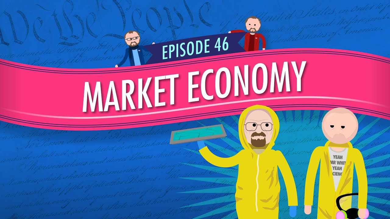 market economy crash course government and politics 46 youtube