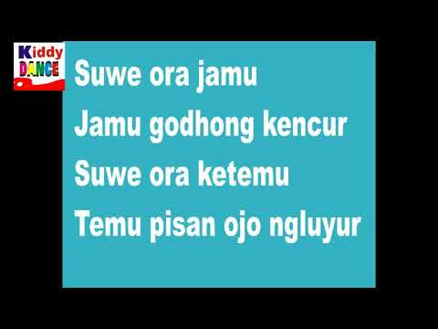 SUWE ORA JAMU Lagu Daerah Jawa Tengah Remix dengan Lirik HD Audio dan Video