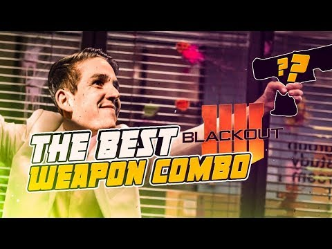 THIS IS THE BEST WEAPON COMBO IN BLACKOUT!! (Call of Duty: Blackout) thumbnail