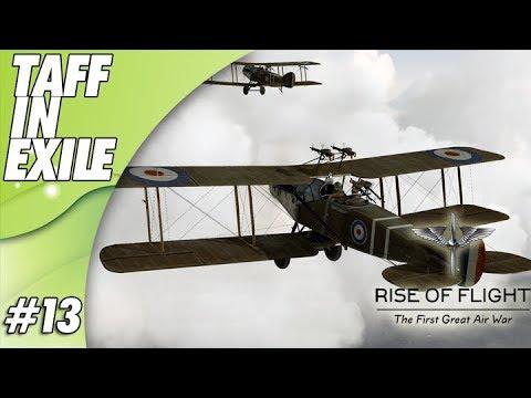 Rise of Flight   Bristol F2   Observation Balloon Strike