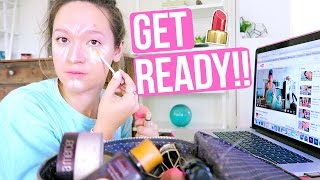 HOW I ACTUALLY GET READY!!!! AlishaMarieVlogs