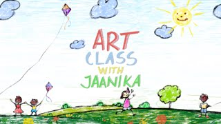 Art Class with Jaanika - Episode 2 - Coloured Drawings