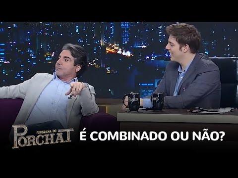 João Kleber revela se personagens de seu programa são atores