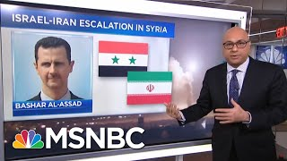 Why Syria Is Bombing Israel And Iran's Connection To It | Velshi & Ruhle | MSNBC