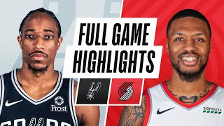 Download SPURS at TRAIL BLAZERS | FULL GAME HIGHLIGHTS | May 8, 2021