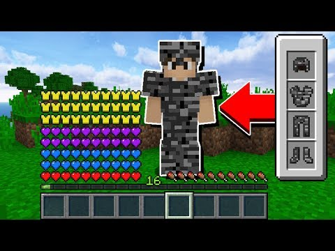 Minecraft Impossível #14: FINALMENTE FIZ A ARMADURA INVENCÍVEL DE BEDROCK!