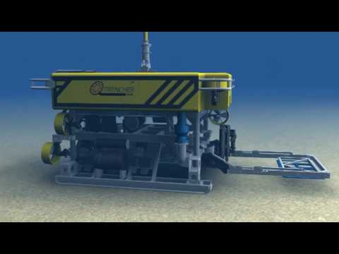 SMD QTrencher 600 - trenching ROV for subsea cables and pipelines