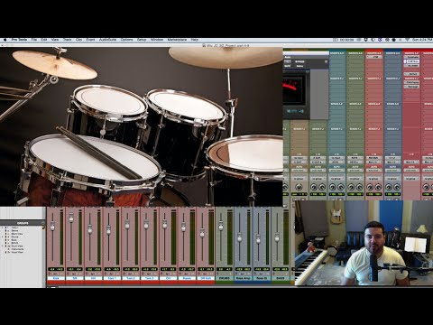 Mixing Soul Funk in Pro Tools | Part 10 | Mixing Drums