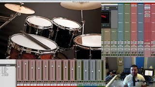 Mixing Drums Pro Tools 12.5 | Mix Series 4-10