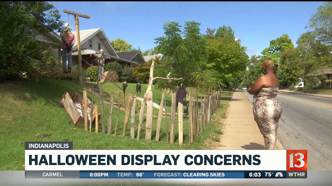 Your Halloween Decorations are RACIST! - YOU RACIST! - WATCH THIS GARBAGE!