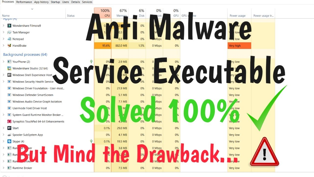 How to Disable Antimalware Service Executable on Windows ...