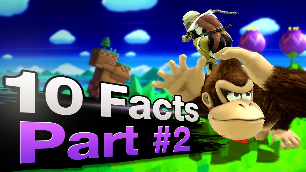 Smash 4 Wii U - 10 Fascinating Facts [PART 2]