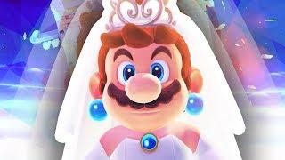 MARIO IN A WEDDING DRESS!!! (Super Mario Odyssey)