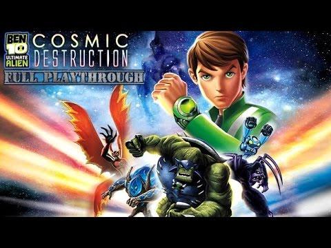 Ben 10 Ultimate Alien: Cosmic Destruction (Xbox 360) (Full Original Playthrough)